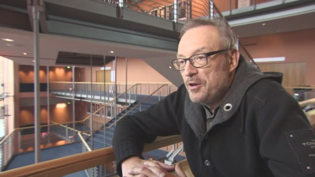 INTERVIEW Josef Hader on the character of the boss at Berlin Film Festival 'Wild Mouse' Interviews at Berlinale Palast on February 12 2017 in Berlin...