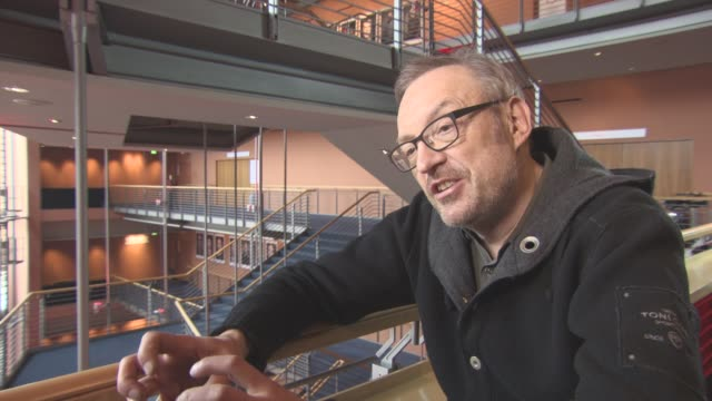 INTERVIEW Josef Hader on the last scene of the film at Berlin Film Festival 'Wild Mouse' Interviews at Berlinale Palast on February 12 2017 in Berlin...