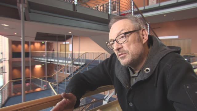 INTERVIEW Josef Hader on the music in the film at Berlin Film Festival 'Wild Mouse' Interviews at Berlinale Palast on February 12 2017 in Berlin...