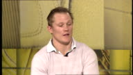 Josh Lewsey interview Lewsey interview SOT Thinks England will push Wales France and Ireland further than people expect in Six Nations / Six Nations...