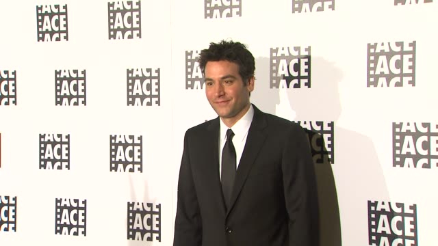 Josh Radnor 63rd Annual ACE Eddie Awards at The Beverly Hilton Hotel on February 16 2013 in Beverly Hills California