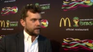 INTERVIEW Joshua Jackson on McDonald's being excited for the World Cup from the point of view of a Canadian dating a German and his new TV show for...