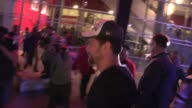 Joshua Jackson on the epic LA Kings victory at the LA Kings vs NY Rangers Game 5 Stanley Cup Finals at the Staples Center in Los Angeles Celebrity...
