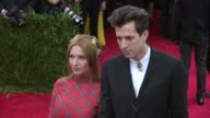 Joséphine de La Baume and Mark Ronson at 'China Through The Looking Glass' Costume Institute Benefit Gala Arrivals at Metropolitan Museum of Art on...
