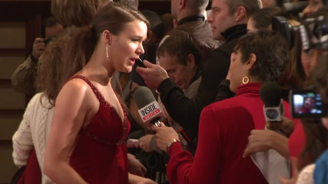 Joss Stone and Allison Janney at the MercedesBenz Fashion Week Fall 2008 Heart Truth Red Dress Fashion Show backstage area at the Tent at Bryant Park...