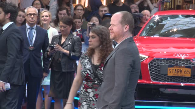 Joss Whedon at 'Avengers The Age of Ultron' Premiere at Westfield on April 21 2015 in London England