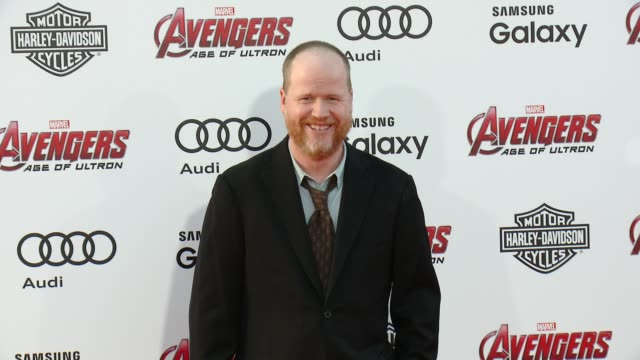 Joss Whedon at The World Premiere of Marvel's 'Avengers Age of Ultron' at Dolby Theatre on April 13 2015 in Hollywood California
