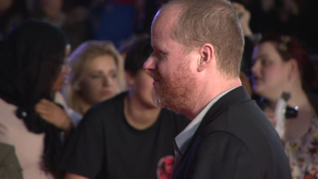 Joss Whedon at 'Thor The Dark World' World Premiere at Odeon Leicester Square on October 22 2013 in London England