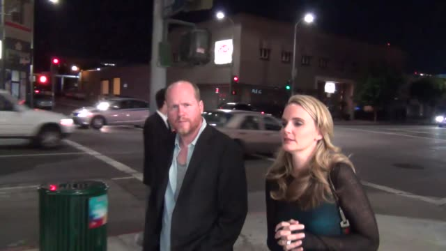 Joss Whedon on what he would do if world ends outside Cat and Fiddle Restaurant in Hollywood at Celebrity Sightings in Los Angeles Joss Whedon on...