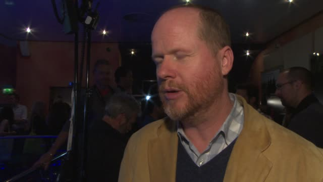 INTERVIEW Joss Whedon on why he started the project going up against 'Man of Steel' at the box office at 'Much Ado About Nothing' Gala Screening at...