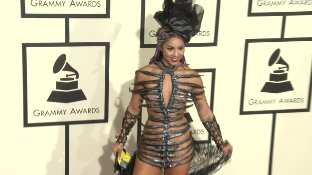 Joy Villa at 58th Annual GRAMMY Awards® Arrivals at Staples Center on February 15 2016 in Los Angeles California