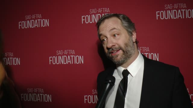 INTERVIEW Judd Apatow on the event and honor at SAGAFTRA Foundation Patron of the Arts Awards in Los Angeles CA