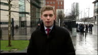 Judge criticises evidence of witnesses in supergrass trial Reporter to camera One of acquitted men embracing people outside court Ken Wilkinson...