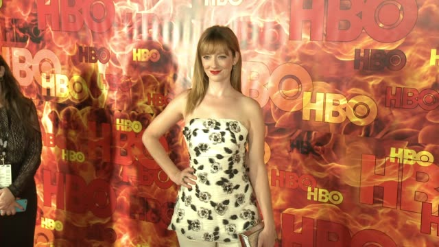 Judy Greer at the 2015 HBO Emmy After Party at The Plaza at the Pacific Design Center on September 20 2015 in Los Angeles California