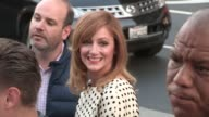 Judy Greer greets fans while arriving at the Arrested Development Season 4 Premiere in Hollywood 04/29/13