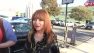 INTERVIEW Judy Tenuta talks about how hard it is to play the accordion at the Hollywood Museum in Hollywood in Celebrity Sightings in Los Angeles