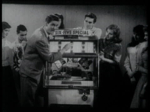 1958 MONTAGE Jukebox intro to band performance