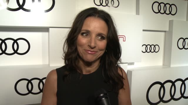 INTERVIEW Julia LouisDreyfus on what she's most looking forward to about Emmy night the fact that she appeared in last year's Emmy ad if she wishes...