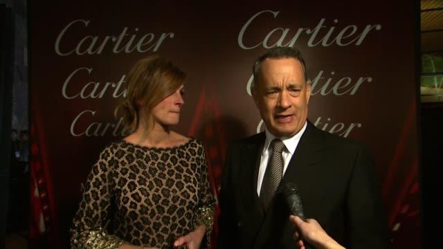 Julia Roberts Tom Hanks Sandra Bullock Matthew McConaughey Meryl Streep Lupita Nyong'o Steve McQueen Bradley Cooper Amy Adams The Edge Bono Sandra...
