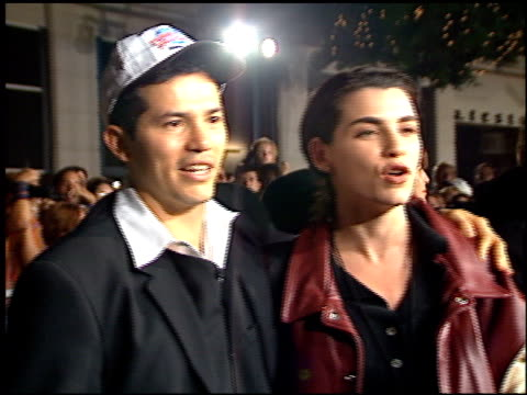 Julianna Margulies at the Planet Hollywood entrances on September 17 1995