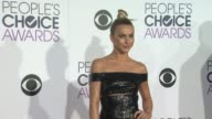 Julianne Hough at the People's Choice Awards 2016 at Nokia Plaza LA LIVE on January 6 2016 in Los Angeles California