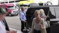 Julianne Hough departing at LAX Airport in Los Angeles in Celebrity Sightings in Los Angeles