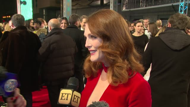 Julianne Moore at The EE British Academy Film Awards 8th February London England