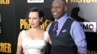 Julie Ann Emery Malcolm Barrett at the Premiere Of AMC's 'Preacher' Season 2 on June 20 2017 in Los Angeles California