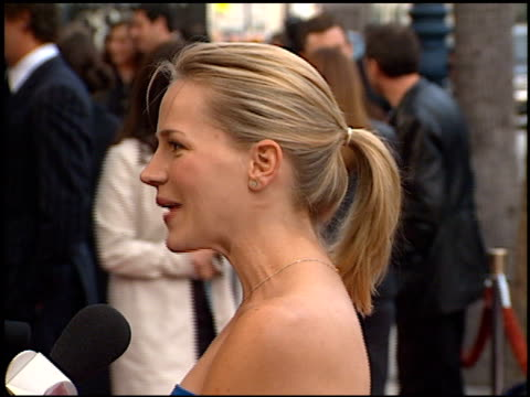 Julie Benz at the '28 Days' Premiere at Academy Theatre in Beverly Hills California on April 6 2000