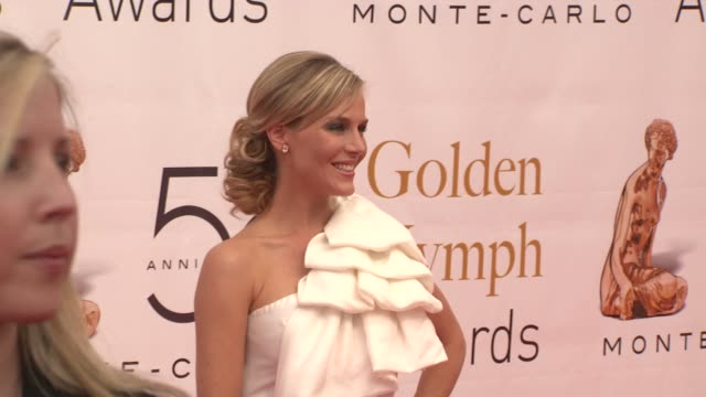 Julie Benz at the 50th Monte Carlo TV Festival Closing Ceremony at MonteCarlo