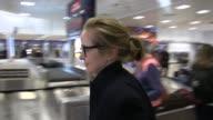 Julie Delpy arrives at Salt Lake City Airport for the Sundance Film Festival on January 21 2016