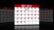 July, August, September 2012