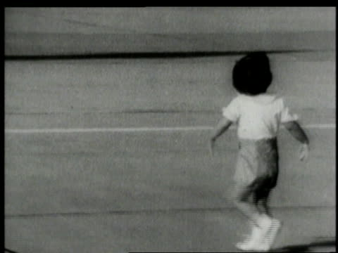 June 1963 Ws Young John Kennedy Jr Skipping To Greet