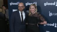 June Diane Raphael and Paul Scheer at the 28th Annual GLAAD Media Awards at The Beverly Hilton Hotel on April 01 2017 in Beverly Hills California
