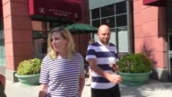 INTERVIEW June Diane Raphael Paul Scheer talk about being a mom still having a job while shopping in Beverly Hills in Celebrity Sightings in Los...