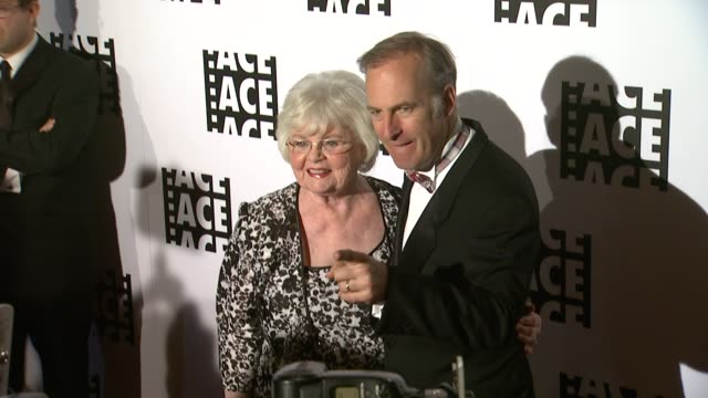 June Squibb Bob Odenkirk at 64th Annual ACE Eddie Awards in Los Angeles CA