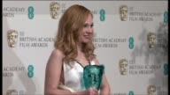 Juno Temple EE British Academy Film Awards 2013 Winners Room at The Royal Opera House on February 10 2013 in London England