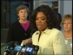 A jury that included TV talk show host Oprah Winfrey convicted a man of murder after a trial that turned into a media frenzy because of the...