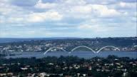 Juscelino Kubitschek Bridge  - Aerial View - Federal District, Brasília, Brazil