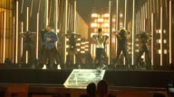 PERFORMANCE Jussie Smollett Yazz and Estelle at MGM Grand on May 15 2015 in Las Vegas Nevada