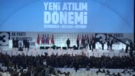 Justice and Development Party's delegates vote to elect the party's new chairman during the 3rd extraordinary congress of AK Party in Ankara Turkey...