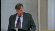 Justice Secretary Ken Clarke speech on criminal justice reform Ken Clarke speech SOT Contrary to what the Financial Times has apparently reported...