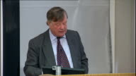 Justice Secretary Ken Clarke speech on criminal justice reform Ken Clarke speech SOT When you have handed out community penalties have you found them...