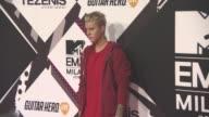 Justin Bieber at MTV Europe Music Awards on October 25 2015 in Milan