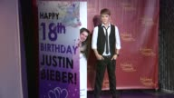 Justin Bieber's Wax figure and his Biggest Fan at Madame Tussauds Hollywood Justin Bieber's Biggest Fan Unveil New Bieber Figure On Singer's 18th...