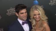 Justin Gaston Melissa Ordway at The 40th Annual Daytime Emmy Awards on 6/16/13 in Los Angeles CA
