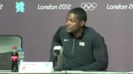 Justin Gatlin of the United States led Jamaica's defending champion Usain Bolt and young pretender Yohan Blake into the men's Olympic 100m on Sunday...