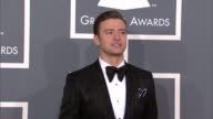 Justin Timberlake at The 55th Annual GRAMMY Awards Arrivals in Los Angeles CA on 2/10/13