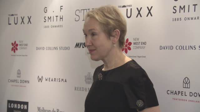 Justine Picardie at Walpole British Luxury Awards at The Dorchester on November 20 2017 in London England