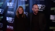 Justyna Sroka and Albert Hammond Jr at 52nd New York Film Festival 'Inherent Vice' Centerpiece Gala Presentation World Premiere at Alice Tully Hall...